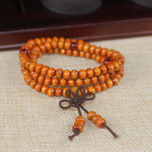 Image 5 - Multilayer Wenge Prayer Beads 108 Tibetan Buddhist Charm Meditation Necklace Yoga lucky Sandalwood Wooden Bracelet For Women Men