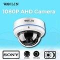 Wan lin 2.0mp domo de metal a prueba de vandalismo sony imx323 1080 p ahd cámara de interior de seguridad cctv video vigilancia cámara