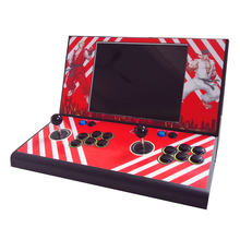 New Arrival Mini coin operated Arcade Machine With Classical Game horizontal 520 In 1 game PCB tekken tag tournament 2 game pcb x 360 converting to jamma arcade machine amusement machine coin operated game arcade cabinet