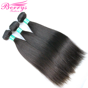 Image 5 - Brazilian Virgin Hair Straight Hair Extensions 3 Bundles/Lot 8 34Inch Double Machines Weft Natural Color Berrys Fashion Hair