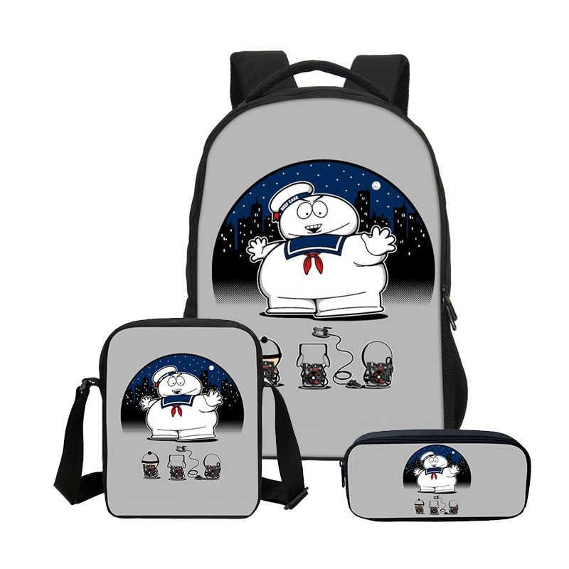 ... 2019 VEEVANV Ghostbusters Printing Men School Backpacks Fashion Boys 3  Pcs Set Laptop Shoulder Bags Teenager ... 29f131338193e