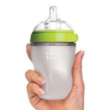 Силиконовая детская бутылочка, Детская молочная силиконовая насадка на бутылочку для кормления(ложка бонусом), Детская Бутылочка Для сосок mamadeira