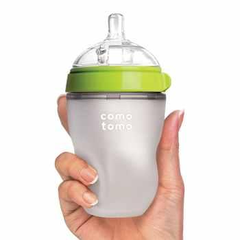 Silicone Baby Bottle baby milk silicone feeding bottle (Spoon bonus) bottle children mamadeira nipple bottle - DISCOUNT ITEM  10% OFF All Category