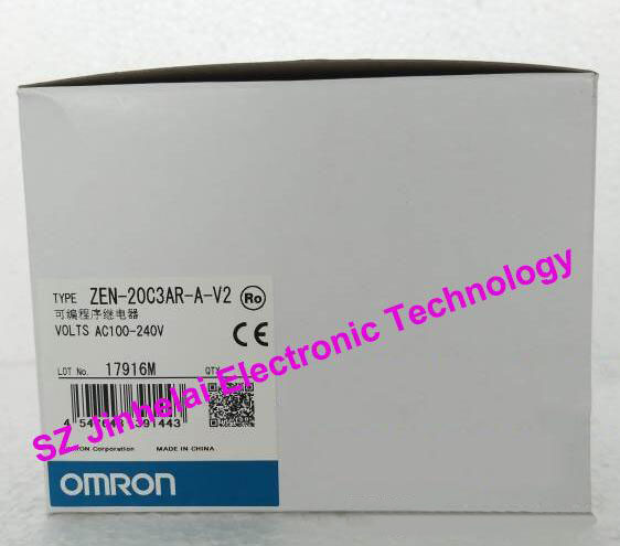 100%New and original ZEN-20C3AR-A-V2 OMRON Programmable relay AC100-240V все цены