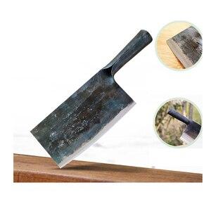 Image 4 - 1 szt. Czyste ręcznie robione integralnie uformowane ze stali manganowej nóż kuchenny nóż do krojenia uchwyt nóż do kości