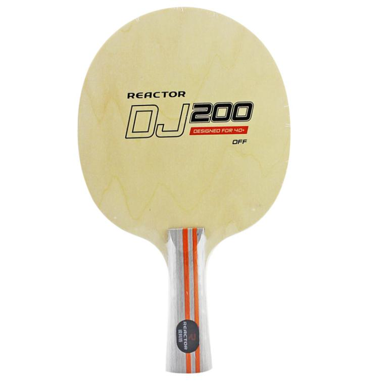 NEW Reactor DJ200 DJ200A Table Tennis Blade For PingPong Racket Wood Professional