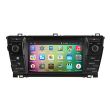 8″ Android 4.4 Quad Core Car Radio DVD GPS Navigation Central Multimedia for Toyota Corolla 2013 2014 2015 Bluetooth Handsfree