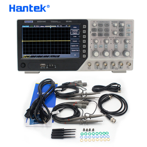 Image 5 - جهاز رسم الذبذبات الرقمي من Hantek طراز DSO4104C مع 4 قنوات 100 ميجا هرتز وعرض النطاق الترددي للكمبيوتر ذبذبات الذبذبات بشاشة عرض LCD USB