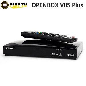 Image 1 - Genuine Openbox V8S Plus DVB S2 Digital Satellite Receiver Support CARD SHARING Xtream Portugal Youtube USB Wifi  MGCAMD DVB S2