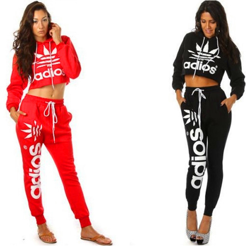 2015 mujeres chándal marca nueva sudadera Pants un