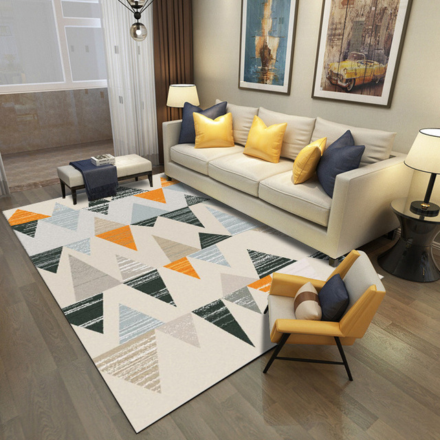 Nordic Carpets For Living Room Home Rug Modern Carpet Bedroom Sofa ...