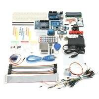 New Electronic Set Full Edition UNO R3 Starter Kit For Arduino 1602LCD RFID Servo Relay PIR