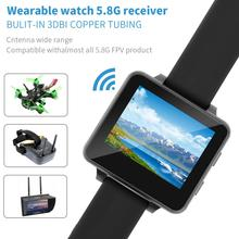 JMT Upgrade FPV Watch 200RC 5.8GHz 40CH HD 480*240 2 TFT Monitor Wireless Receiver for DIY RC Drone Camera Heli Quadcopter цена в Москве и Питере