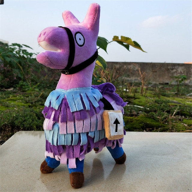 Fortinet Action Figure Toy Collection for Children Infant fortnight Plush Stuffed forti Llama Figure Toys for Kids Gifts