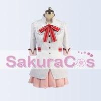 SakuraCos Idolish7 Uniform Party Dress Halloween Cosplay Costume