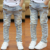 2016 Novos Meninos Meninas Calças Jeans Primavera Calças Dos Miúdos das Crianças calças de Brim de Alta Qualidade Calças Jeans Casual 3-13Y para Estudantes