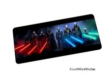 Star Wars mouse pad 900x400mm pad to mouse locked edge notbook computer mousepad gaming padmouse gamer to keyboard mouse mats