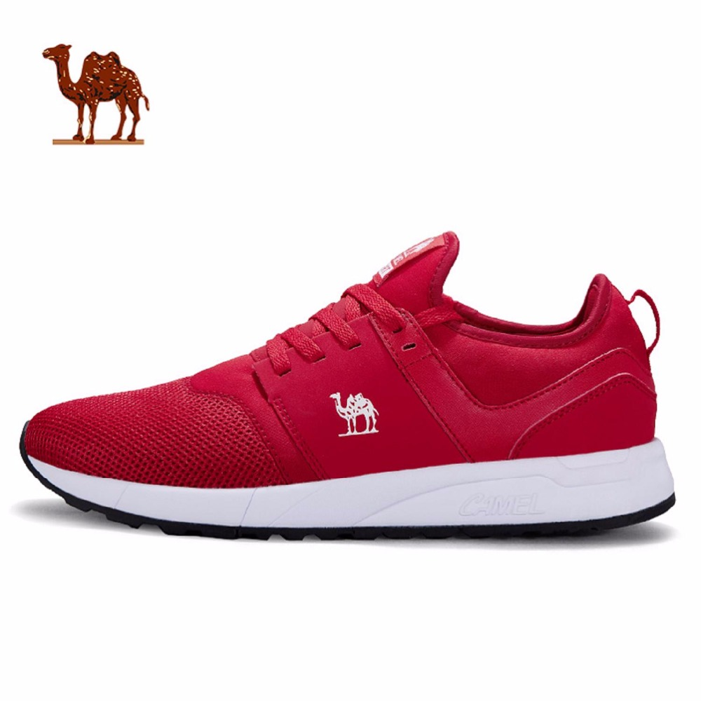 CAMEL 4 Colors Mens Trail Running Shoes Breathable Non-Slip Athletic Sport Shoes Gym Sneakers mulinsen men s running shoes blue black red gray outdoor running sport shoes breathable non slip sport sneakers 270235