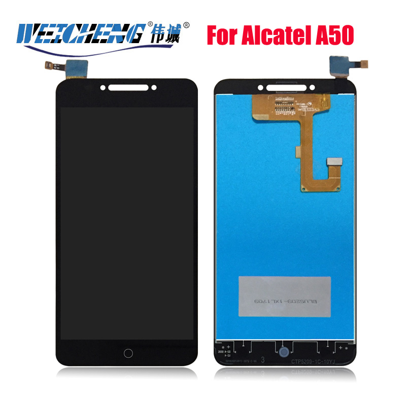 For Alcatel A50 LCD Display Assembly and Touch Screen Panel Replacement for alcatel A50