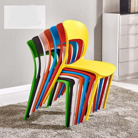 Dining Chair Dining Room Furniture Plastic Fashion Chair Fauteuil
