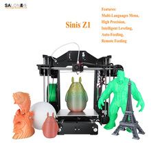 Sinis Z1 Most Economic 3d Printer Machine Auto Feeding Smart Leveling Impressora 3d With Multi-Language Menu Stampante 3d Kit