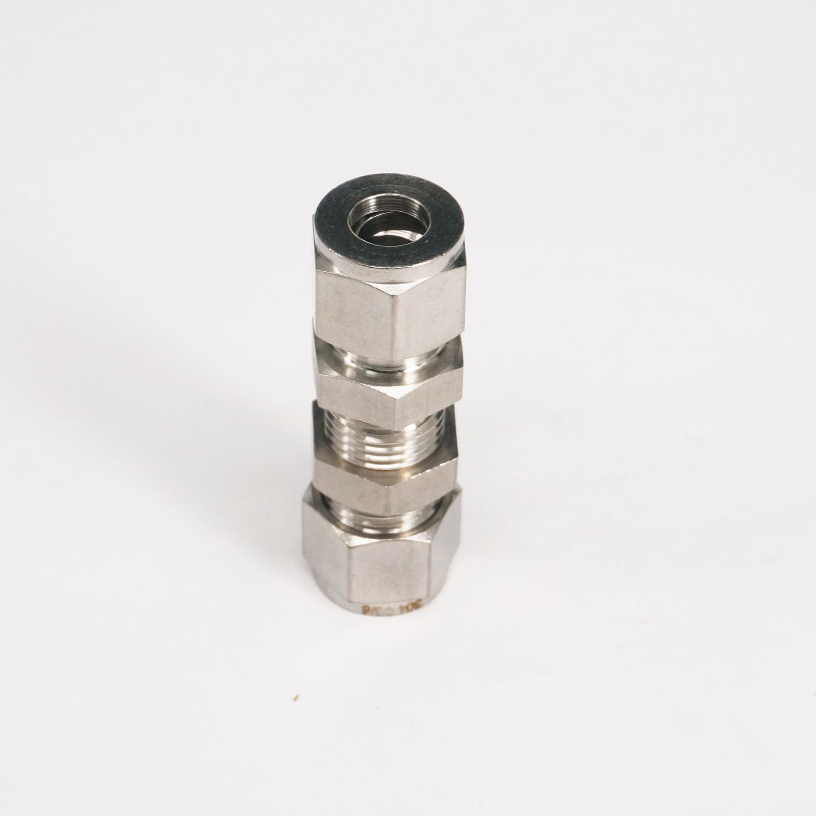 304 Stainless steel Fit 3 8 OD Tube Bulkhead Adapter Connector pression fitting For Tubing