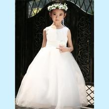 Varejo Vestidos Da Menina de Flor Para Crianças Menina crianças vestido de Baile Primeira Comunhão Meninas Pageant Vestidos Vestido de Noite Elegante LP-53(China (Mainland))