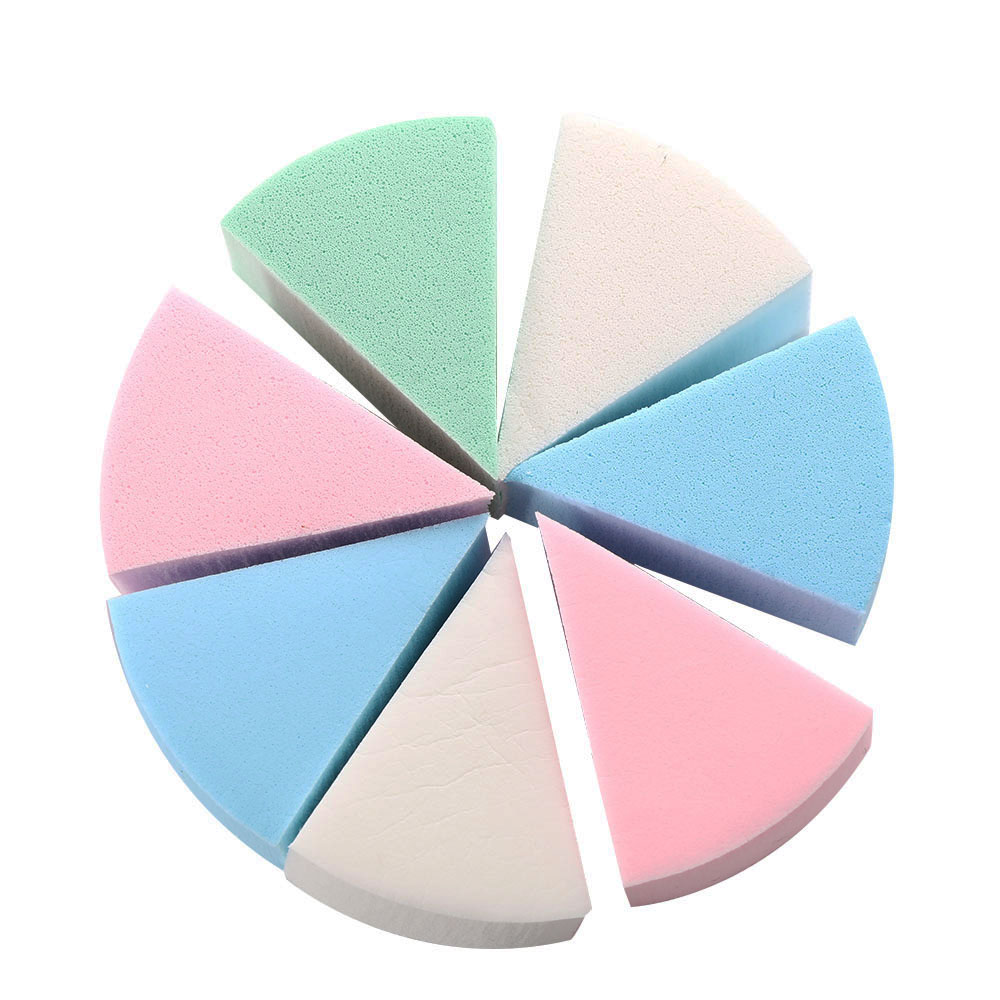 8 Pcs Makeup Foundation Sponge Makeup Cosmetic Puff Powder Smooth Beauty Cosmetic Make Up Sponge Beauty Tools Gifts