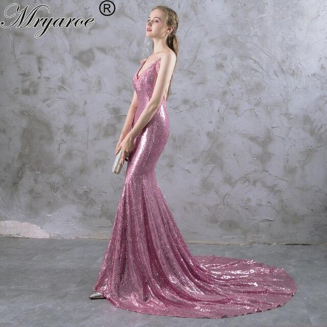 Pink Sparkle Prom Dress