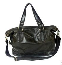 Hot European American Style Big Capacity Coffee Genuine Leather Women handbag Cowhide Fashion Women shoulder bags