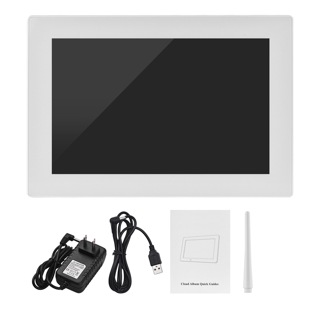 Andoer 102 Inch Touch Screen Wifi Cloud Digital Photo Frame