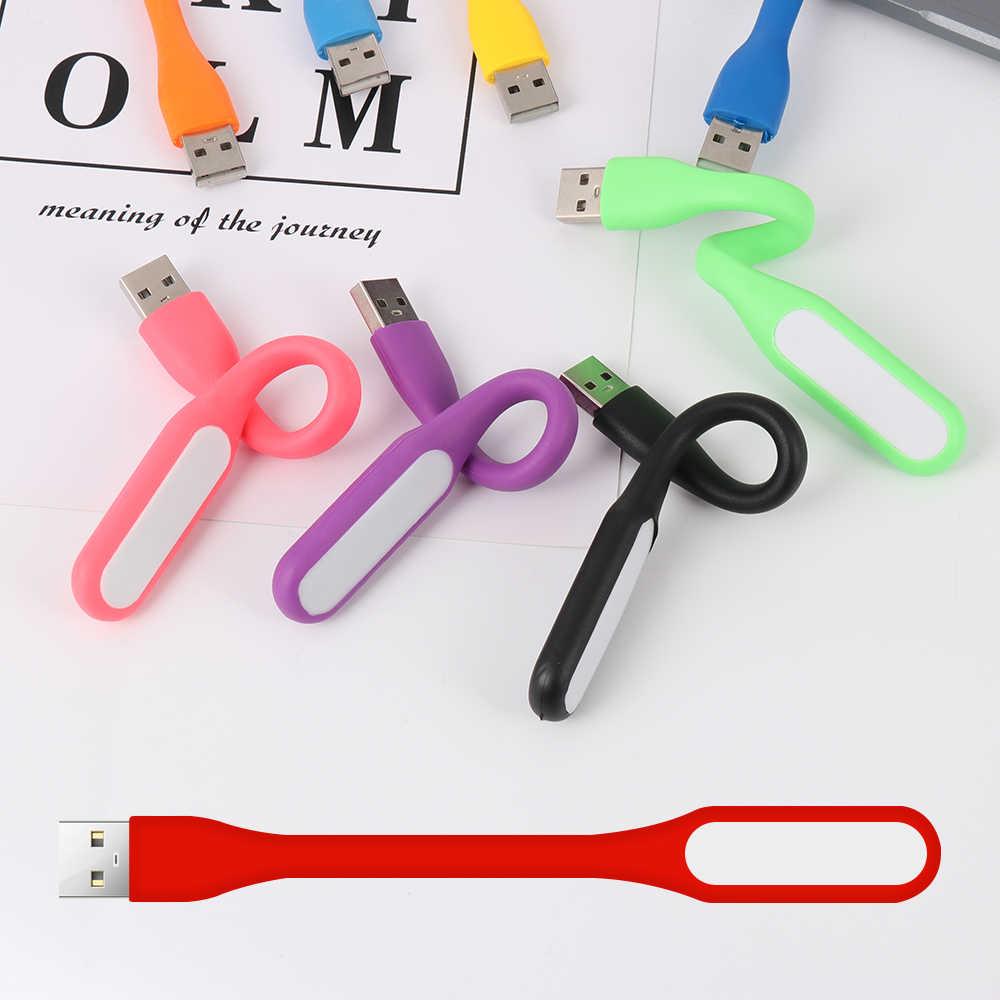1 шт. Мини Портативная светодиодная USB лампа 5 в 1,2 Вт супер яркий свет книги для чтения запасные аккумуляторы телефонов портативных ПК тетрадь