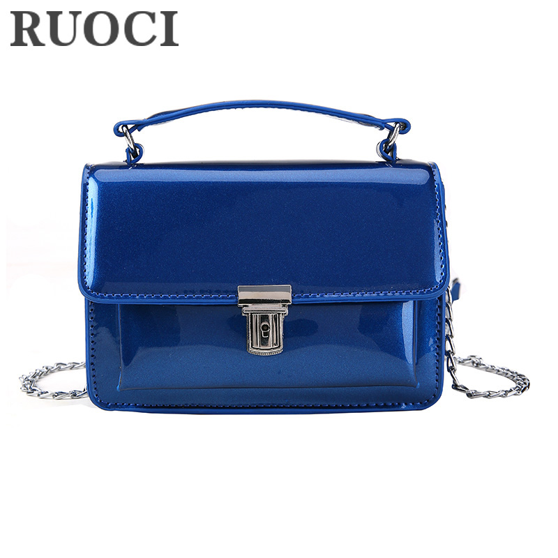 RUOCI Små Dam Väskor PU Läder Messenger Bag Designer Mini Shoulder - Handväskor - Foto 1
