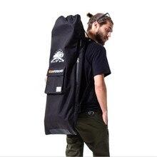 Professional Electric Skateboard Bag 105x40cm Shouler Double Rocker  Skateboard Backpack Multi-functional Drawstring Bag( 7374e81758612