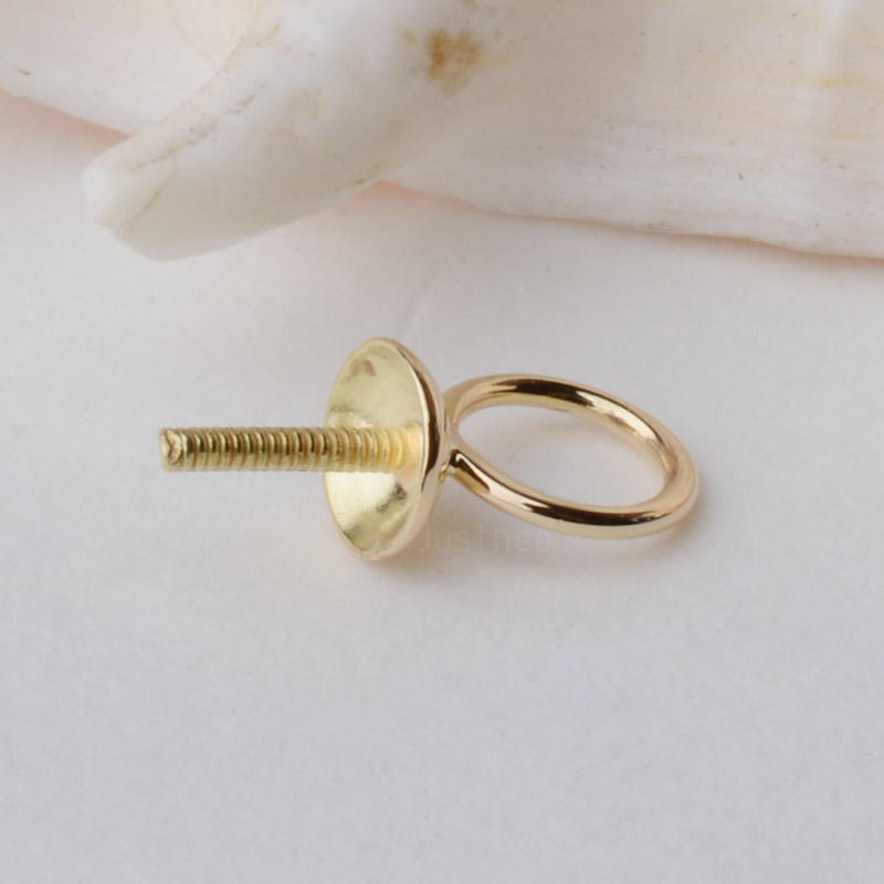 18K Gold Pendant Connector Bead Cap Eyepin and Closed Jump Ring, 18Karat Solid 18ct Dangle Earring and Pendant Finding18K Gold Pendant Connector Bead Cap Eyepin and Closed Jump Ring, 18Karat Solid 18ct Dangle Earring and Pendant Finding