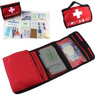 1set Outdoor Wilderness Survival First Aid Kit Medical Bag Rescuing Equipment Camping Hiking Medical Emergency Treatment