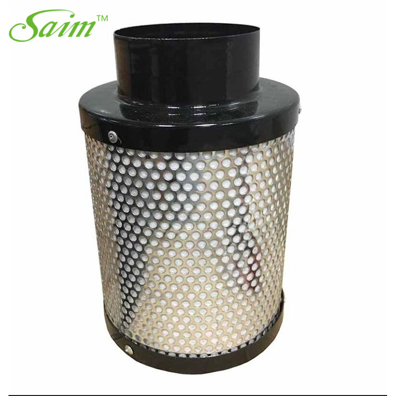 Saim 4'' Air Purifier Carbon Filter Odor Scrubber With 38mm Australia Activated Charcoal Filter For Indoor Grow Tent Hydroponic