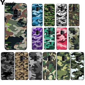 Yinuoda Camouflage Pattern Camo military Army Cover Phone Case for Samsung S9 S9 plus S5 S6 S6edge S6plus S7 S7edge S8 S8plus(China)