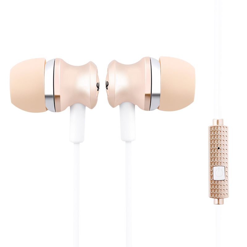 Black Gold Gray Metal Earphone Sport Earphone Super Bass Stereo In Ear Earphone With Microphone Wired Headset Earbuds For Airpod misr t3 wired earphone metal in ear headset magnet for phone with mic microphone stereo bass earbuds