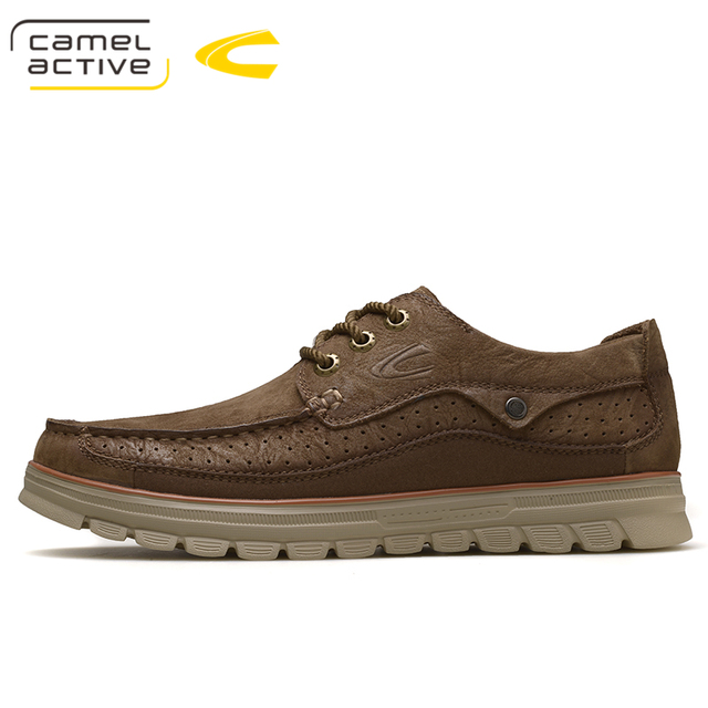 5ea914c07bd0 US $83.0 |Camel Active High Quality Genuine Leather Shoes Mens Shoes  Outdoor Male Casual Leather Flats Comfortable Mens Shoes Large Sizes-in  Men's ...