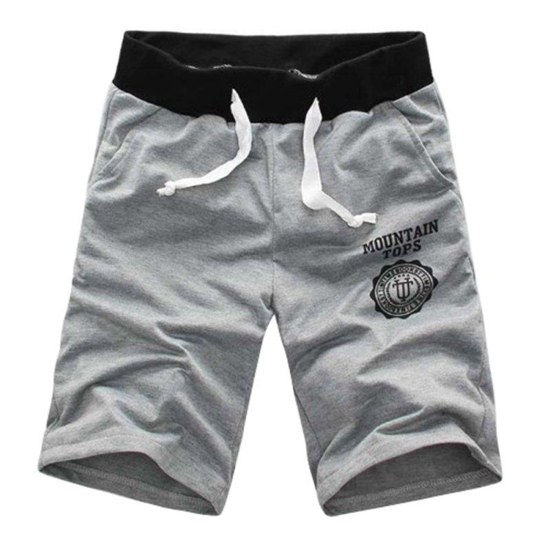 2017 NEW Summer Mens Shorts Sporgymt Casual Short brand clothing boys Shorts Men Jogger Trousers Knee Length Shorts