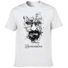 2017 New Fashion Breaking Bad T Shirts Men Heisenberg Camise