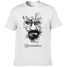 2017 새로운 패션 속보 나쁜 T 셔츠 남자 Heisenberg Camisetas Hombre 남자 쿨 티 셔츠 탑스 짧은 소매 코튼 티셔츠 #191