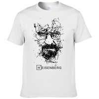 2017 nouveau mode Breaking Bad T-shirts hommes Heisenberg Camisetas Hombre hommes Cool t-shirt hauts à manches courtes coton T-shirts #191