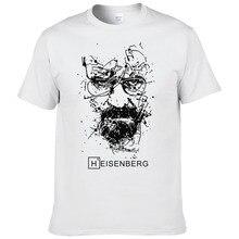 2017 nowych moda Breaking Bad koszulki z krótkim rękawem mężczyźni Heisenberg koszulki Hombre mężczyźni fajne Tee Shirt topy z krótkim rękawem bawełniane koszulki #191