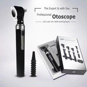 Image 1 - Medyczny CE profesjonalny zestaw diagnostyczny ENT boroskop przenośny endoskop LED otoskop bezpośredni otoskop pielęgnacja uszu sprawdź narzędzie