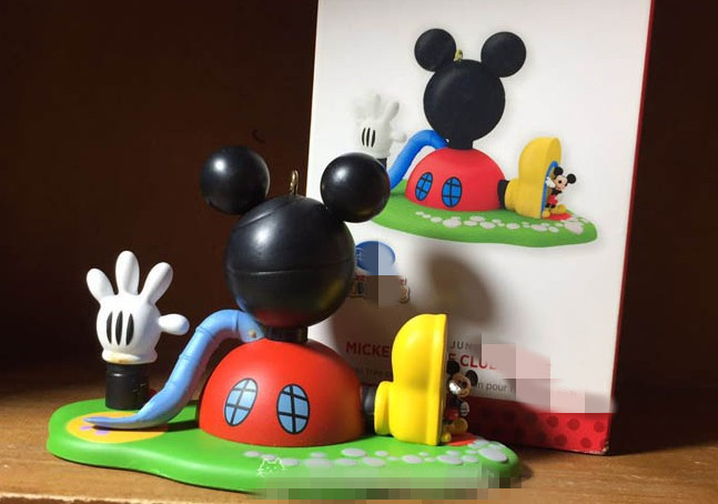 Mickey Clubhouse Figure Toy Mickey Minnie Mouse Donald Daisy Goofy Pluto's House Home Collection Model Figure кружка mickey mouse 350ml 8cm