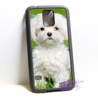 White Maltese Puppies Dog Fashion Cell Phone Case Cover For Samsung Galaxy S3 S4 S5 S6