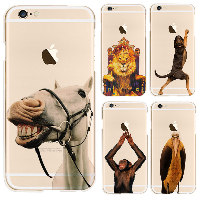 The Lion King painted case for iphone 6 6s Cover coque Capa Roaring horse Roaring horse Case for Apple iphone 6s phone shell