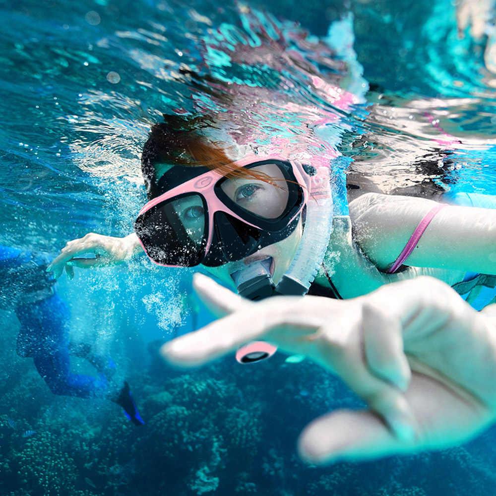 COPOZZ 2019 наборы и маски для дайвинга противотуманные очки с очки для подводного плавания трубка регулируемый ремешок для женщин мужчин и взрослых маска для плавания